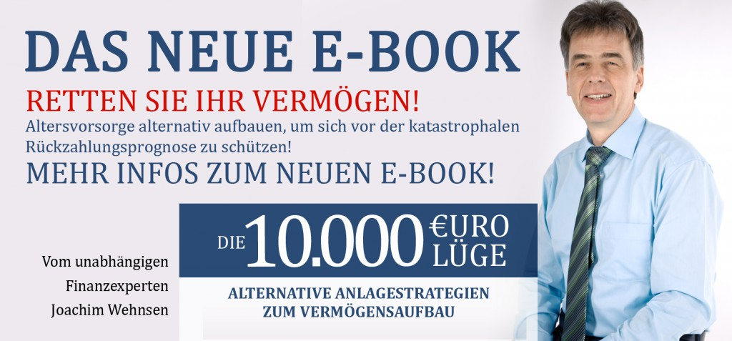 E-book Beste Altersvorsorge, retten Sie ihr Vermögen
